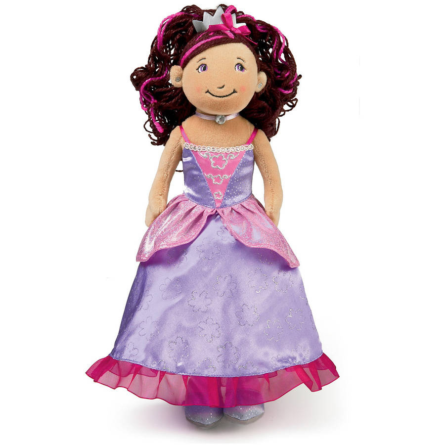 "Manhattan Toy Groovy Girls Princess Ariana (Brunette) 13"" Doll"
