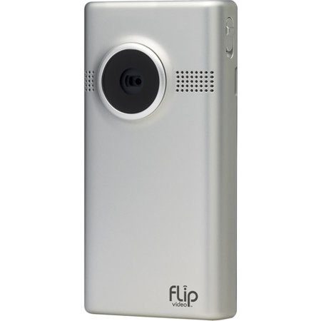 Flip Video M3160S MinoHD 1hr Camcorder - 720p - Silver