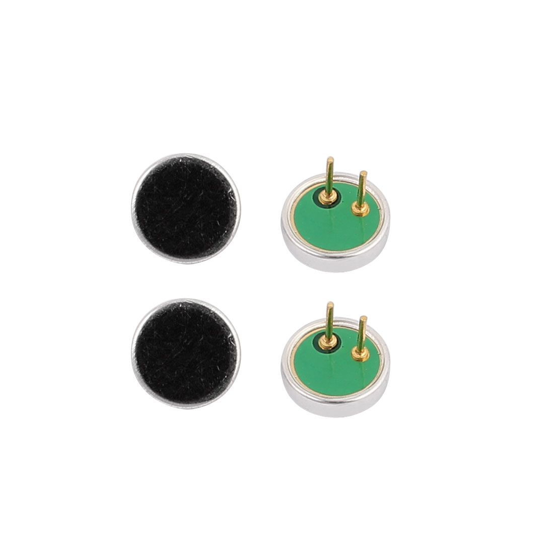 4pcs 6x1.8mm 30-40dB Electret Condenser Microphone High Sensitivity Pickup
