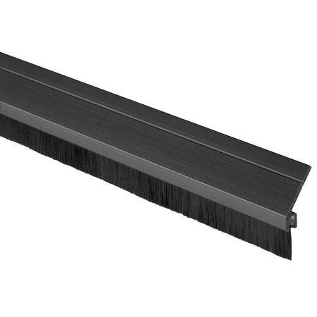 A626DKB-48 Door Frame Weatherstrip, 4 ft, Black