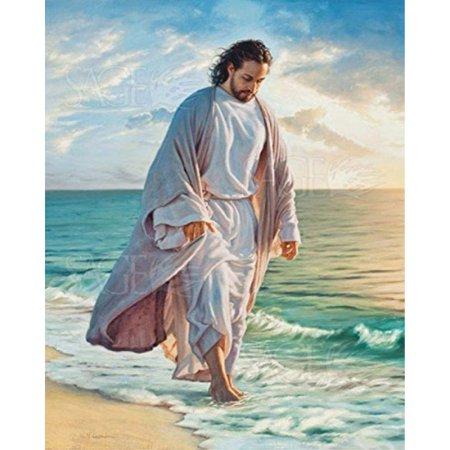 picture peddler be still my soul by mark missman jesus beach christian religion print poster 8x10 ()