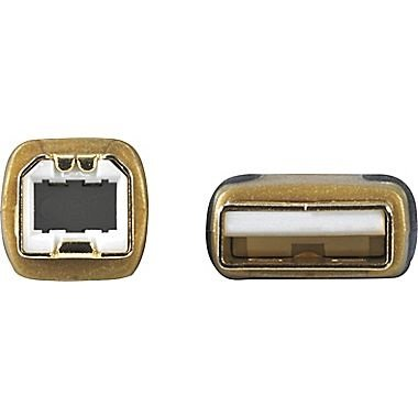 Staples 7ft Gold USB 2.0 Cable
