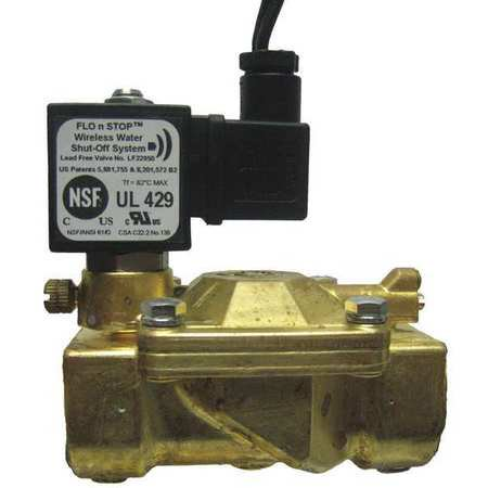 FLO N STOP Solenoid Valve,Brass,Normally Closed,Air 22958