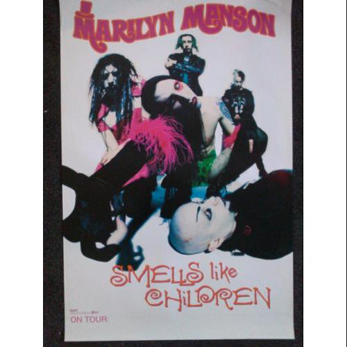 Marilyn manson smells like children poster walmart marilyn manson smells like children poster bookmarktalkfo Images
