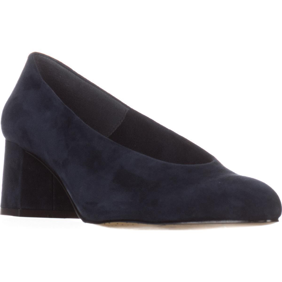 Womens Bella Vita Jensen Comfort Pumps, Navy Suede by Bella Vita