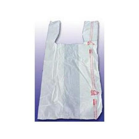 Brown Paper Goods BPC18830THYOU Thank You High-density Shopping Bags, 18w X 8d X 30h, White, 500/carton for $<!---->