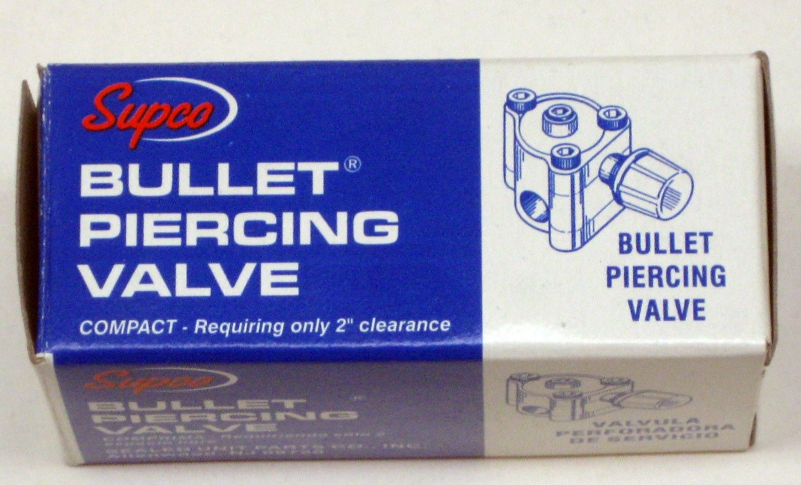 """BPV21 SUPCO Bullet Piercing Valve fits 1//2/"""" and 5//8/"""" Tubing 2-n-1 Access"""