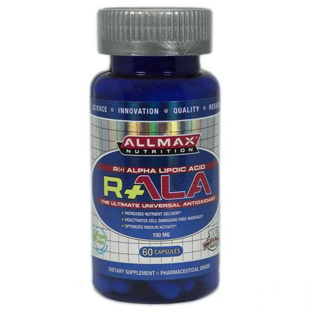 ALLMAX Nutrition, R+Alpha Lipoic Acid (Max Potency R+ALA), 150 mg, 60