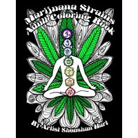 Marijuana Strains: Adult Coloring Book (Paperback)