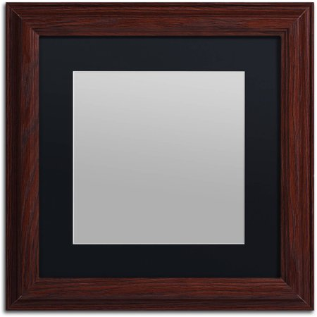 Trademark Fine Art Heavy-Duty 11x11 Wood Picture Frame with 7x7 ...