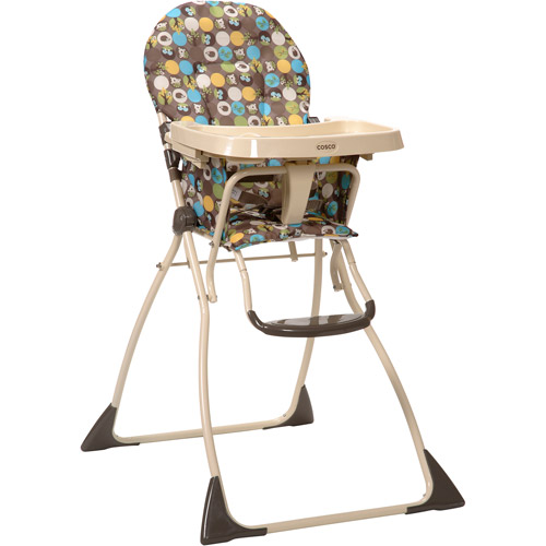 Cosco Slim Fold High Chair, Into the Woods