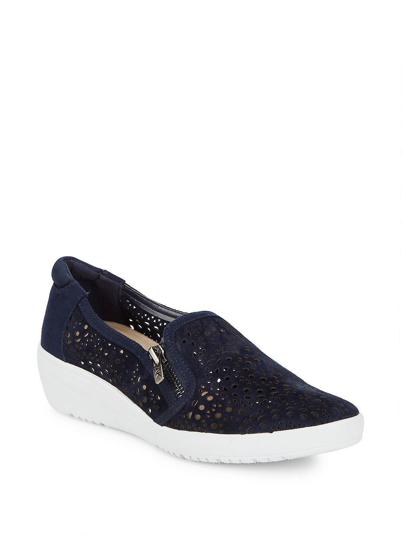 Anne Klein AK Sport Yvette Slip-On Wedge Sneaker