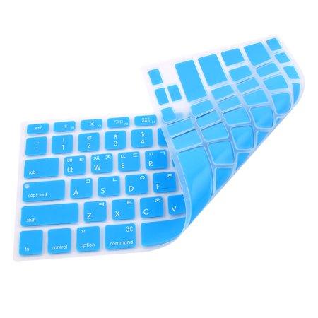 fdb41e23a6b Korean Silicone Keyboard Skin Cover Blue for Apple Macbook Air 13