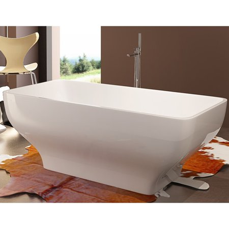 Kardiel HelixBath Taposiris 67'' x 27.5'' Soaking Bathtub