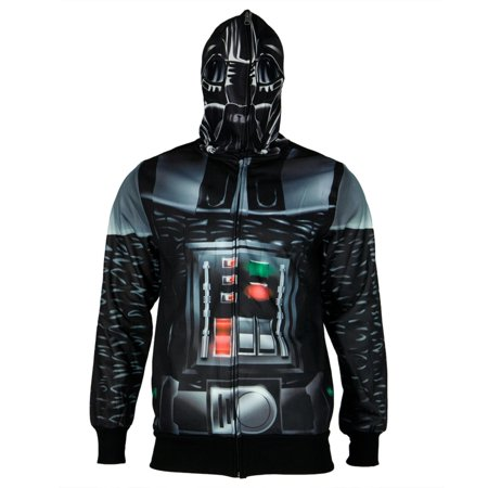 Star Wars - Vader is Here All Over Costume Zip - Star Wars Costume Hoodie