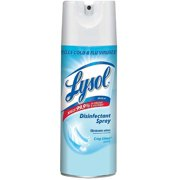 LYSOL Disinfecting Spray, Crisp Linen Scent 6 oz (Pack of 4)