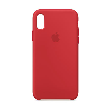 Image result for Apple iPhone x Silicone Case red