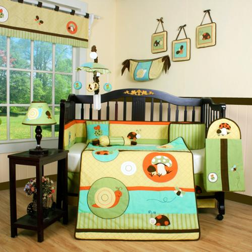 Geenny Garden Paradise 13-piece Crib Bedding Set