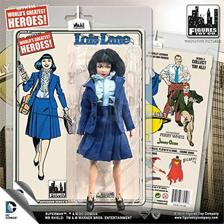 Superman Retro 8 Inch Action Figures Series 2: Lois Lane - Lois Lane Costume Ideas