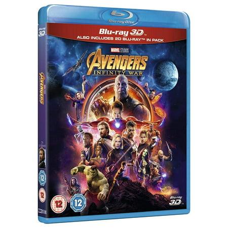 Avengers Infinity War 3D/2D Blu Ray 2018 Region (Avengers Infinity War Release Date In India)