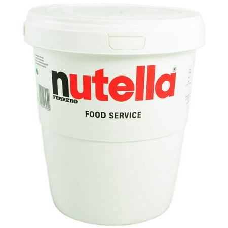 - Ferrero Nutella Chocolate Hazelnut Spread  6.6 Lbs (3kg) Tub