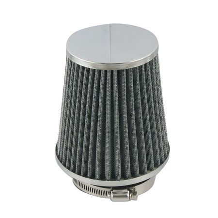 """76mm 3"""" Tapered Cone Car Truck Cold Intake Air Filter Gray - image 1 of 1"""