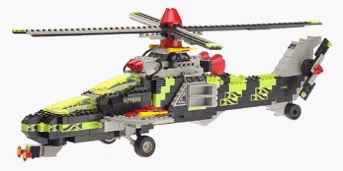 Mega Bloks Pro Builder Night Copter #9740 by Mega Bloks Pro Builder Night Copter #9740
