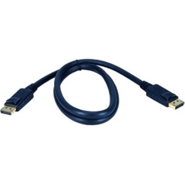 QVS DP-25 25 ft DisplayPort c-ble avec connecteurs m-moire, -. Homme - Homme- - image 1 de 1