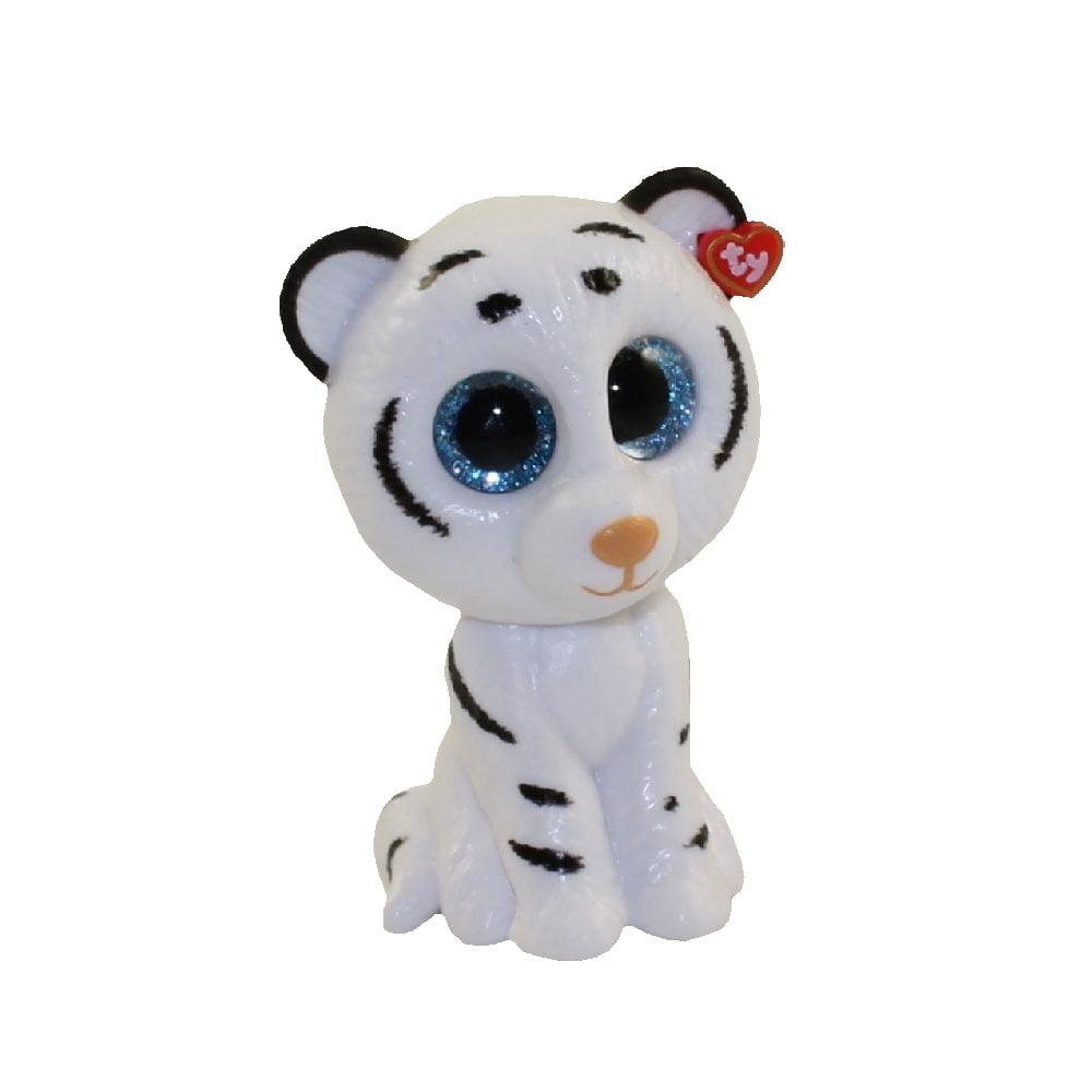 Snow Tiger Beanie Baby - Parchment N Lead 2fbf11184970