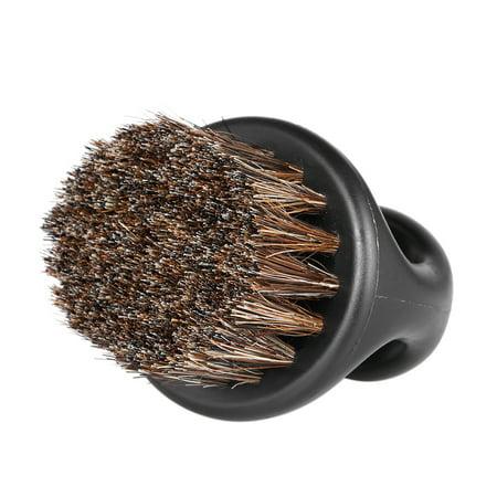 Men's Beard Brush Barber Hair Sweep Brush Mustache Shaving Brush Neck Face Duster Brush for Hairdressing Salon
