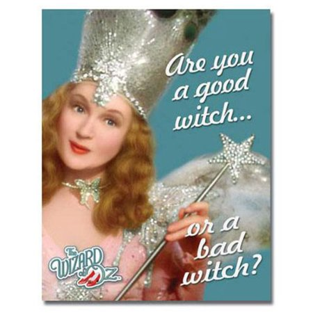 Wizard of Oz Glinda Are You a Good Witch or a Bad Witch?