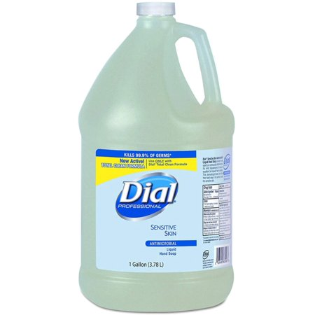 2 Pack - Dial 234-82838 Liquid Dial Sensitive Skin Antimicrobial Liquid Hand Soap 1 gal Jug Scented - 1