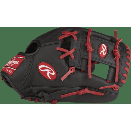 Black Baseball Glove - Rawlings Select Pro Lite Youth Baseball Glove, Francisco Lindor Model, Regular, Pro I Web, 11-1/2 Inch