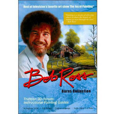 Bob Ross  The Joy Of Painting   Barns Collection  Full Frame