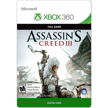 Xbox 360 Assassin's Creed III (email delivery)