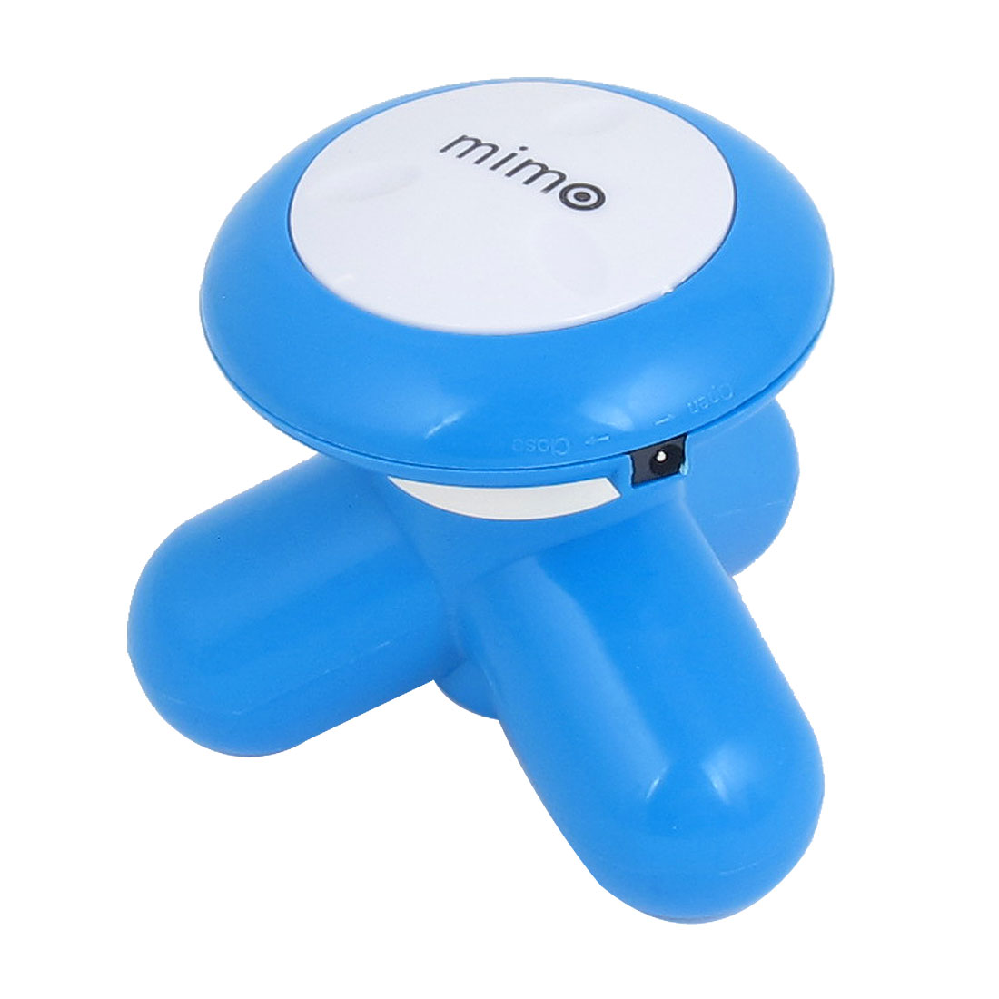 Blue Battery Powered Handheld Body Massage Electric USB Vibrating Massager