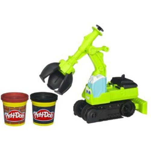 Play-Doh Diggin' Rigs Tonka Chuck & Friends Chomper the Excavator Play Set