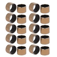 14mmx12mmx10mm Self-lubricating Oilless Bearing Sleeve Composite Bushing 20pcs