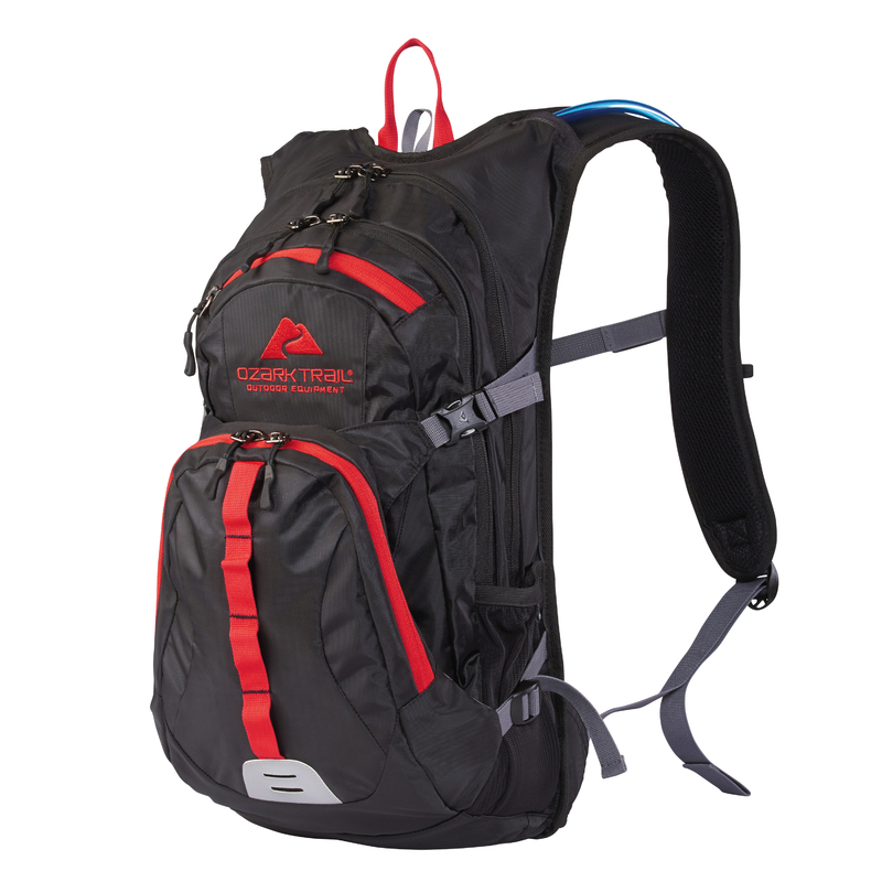OZARK TRAIL 23L Riverdale Hydration Reservoir Backpack outdoor adventure hiking backpacking camping with reflective... by TRAVEL PLUS INTERNATIONAL LLC