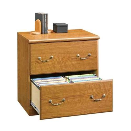 Orchard Hills 2 Drawer Lateral File Cabinet in Oak Finish