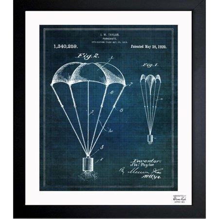 Oliver gal parachute 1920 framed blueprint art walmart oliver gal parachute 1920 framed blueprint art malvernweather Images