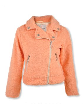 Urban Republic Girls' Sherpa Moto Jacket