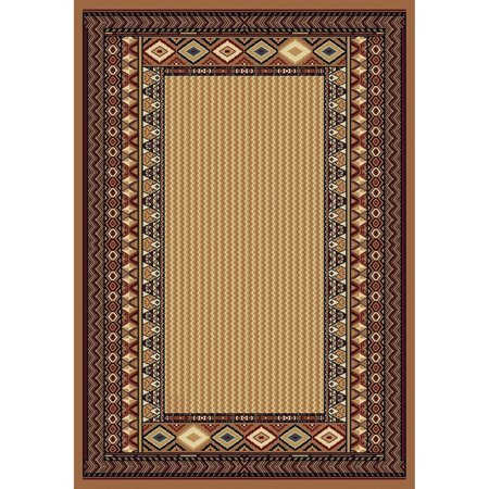 United Weavers Brunswick Mureil Woven Olefin Scatter Rug