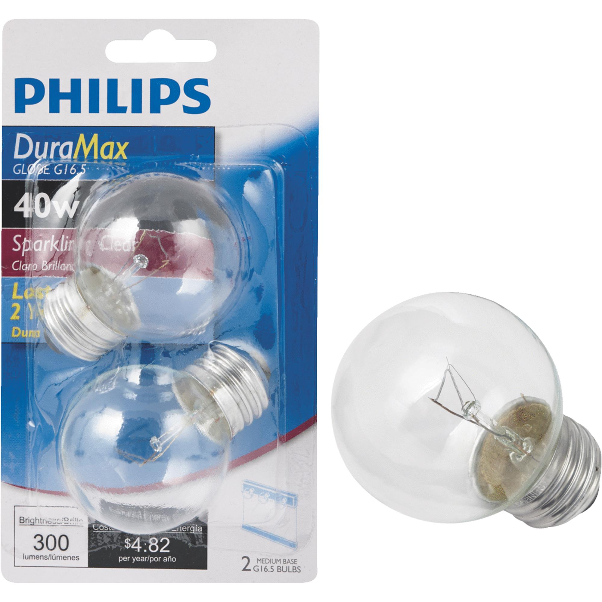 Philips DuraMax Medium G16.5 Incandescent Globe Light