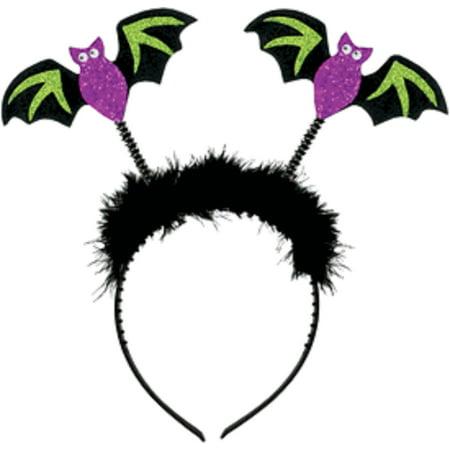 Vampire Bat Halloween Makeup (Glitter Jitter Halloween Bobble Headband: Vampire)