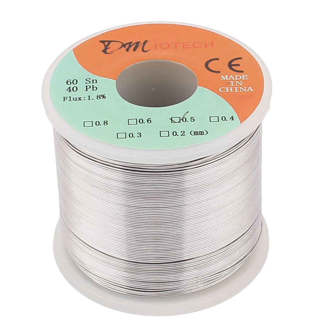 0.5mm 400G 60/40 Rosin Core Tin Lead Roll Soldering Solder Wire