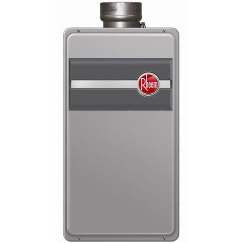RHEEM RTG-95DVLP-1 Direct Vent Low Nox Liquid Propane Tan...