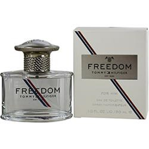 FREEDOM by Tommy Hilfiger for Him 1.0 oz EDT Men's Spray Cologne New 30 ml NIB