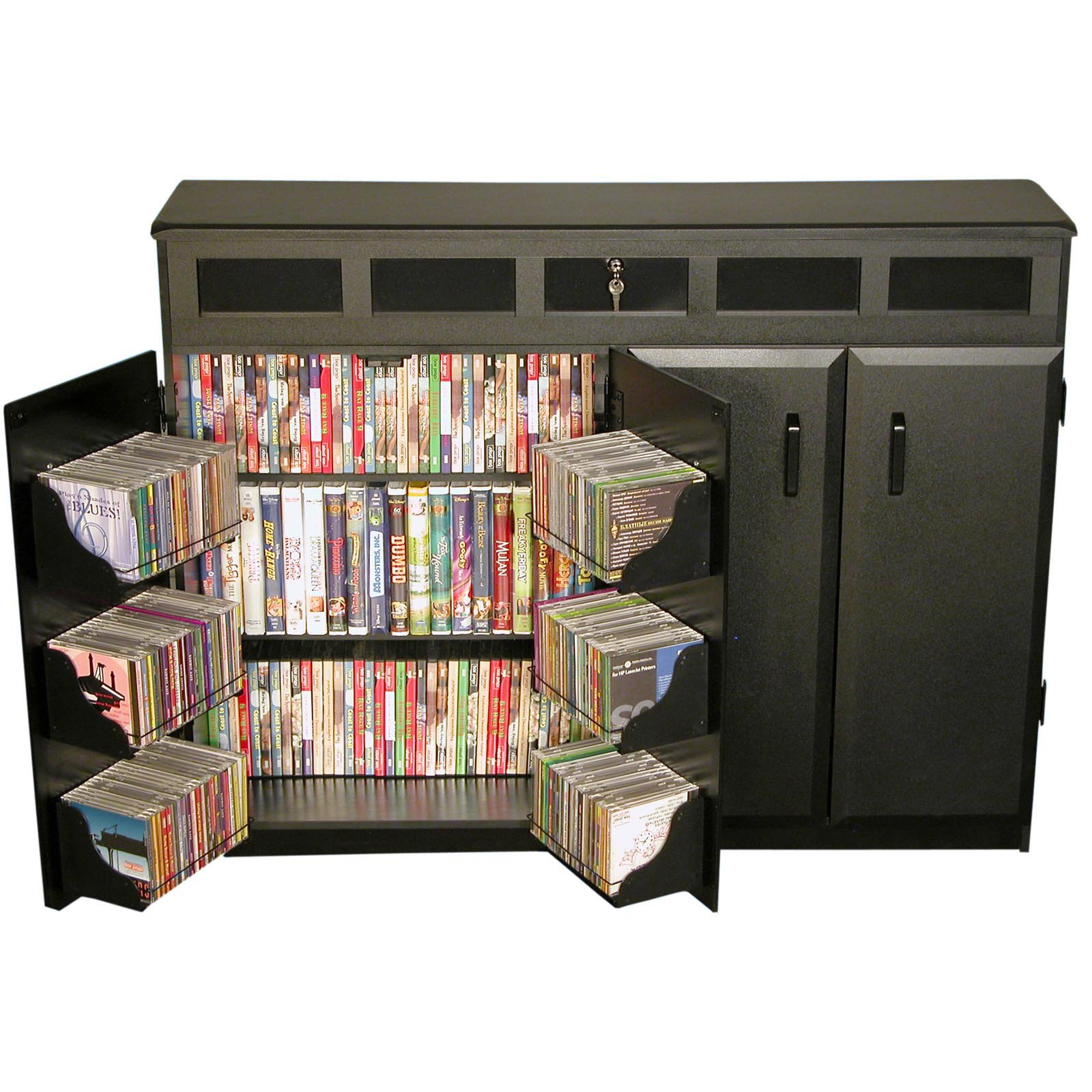 Venture Horizon Top Load Media Cabinet - Walmart.com