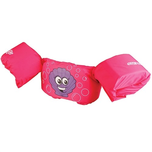 Stearns Pfd 3864 Puddle Jumpers Basic Pink Clam SKU: 3000002177 with Elite Tactical Cloth